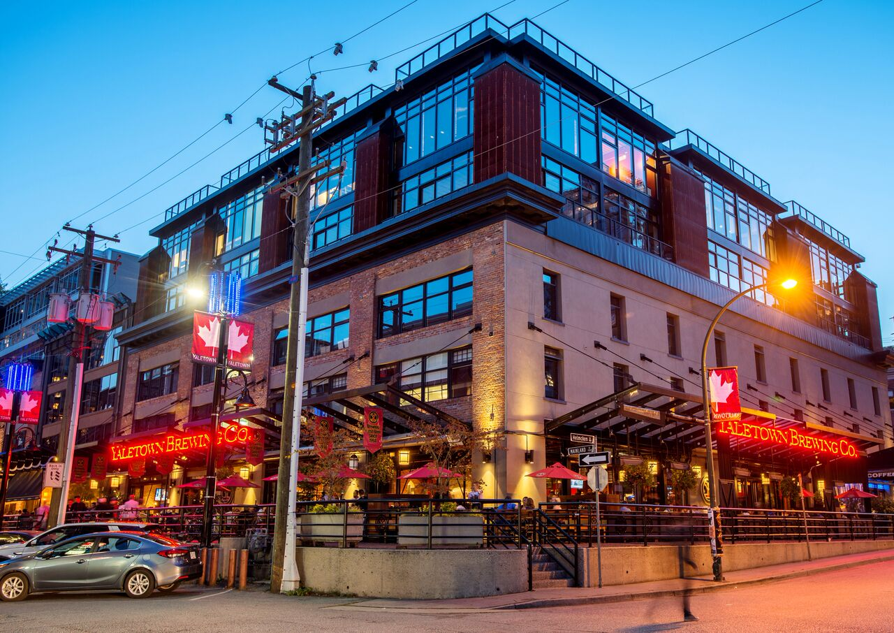 British Columbia's premiere collection of craft brewery and distillery restaurants